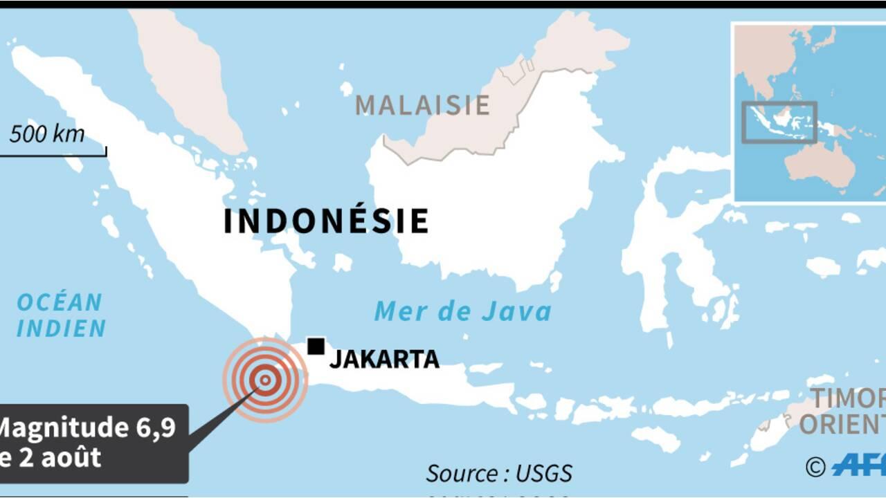 Fort séisme en Indonésie: cinq morts et des blessés