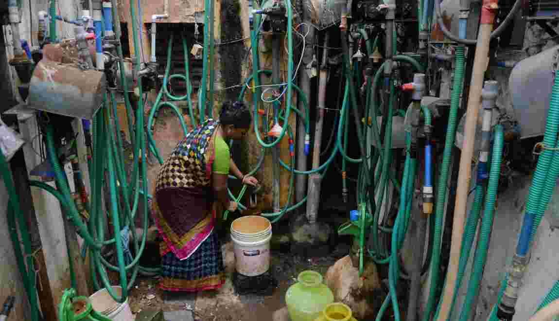 Près d'un quart de la population mondiale serait menacée par une pénurie en eau