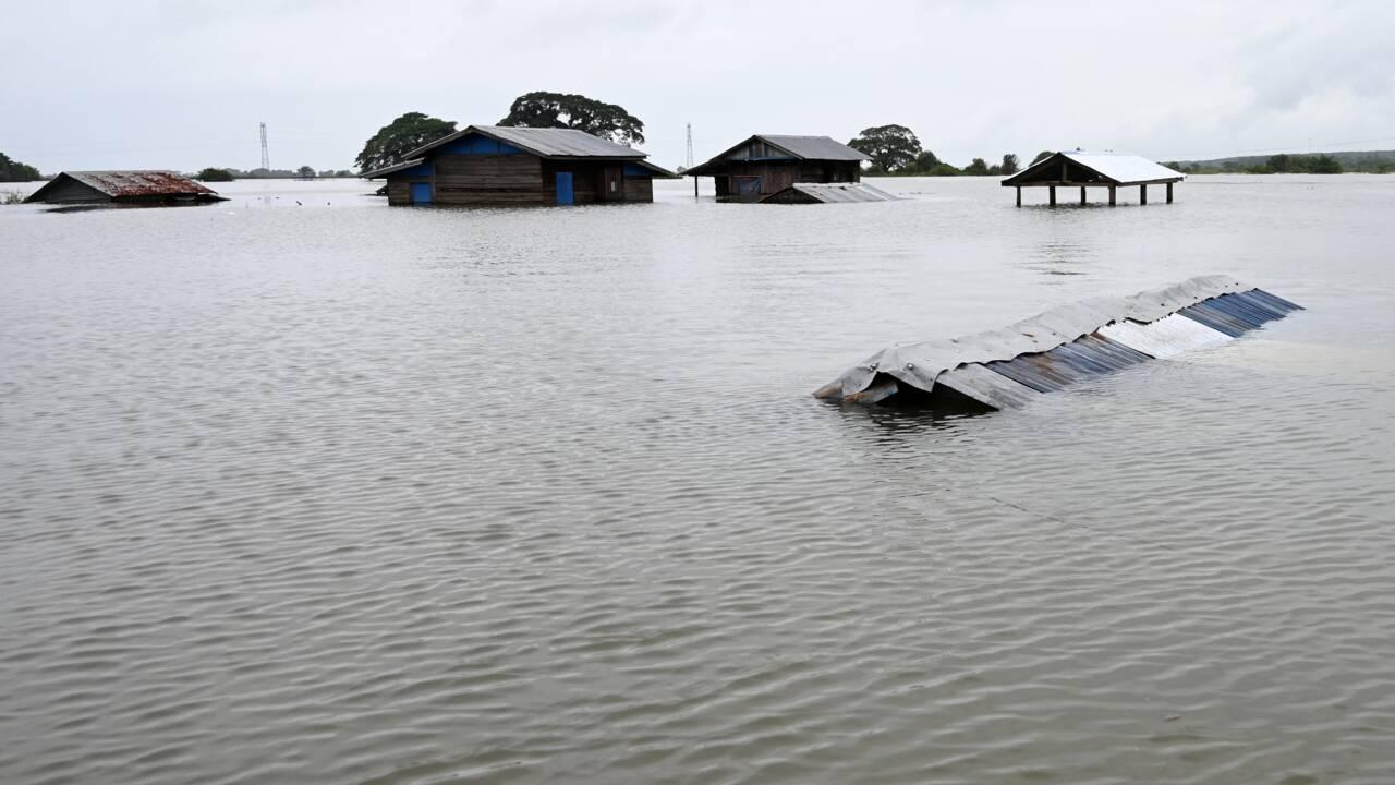 Inondations en Birmanie : plusieurs dizaines de milliers de personnes déplacées