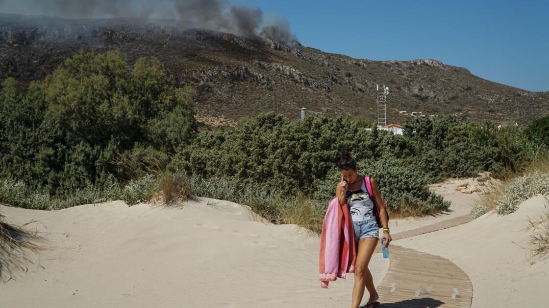 Grèce : plus de 50 incendies dus au vent et à la canicule