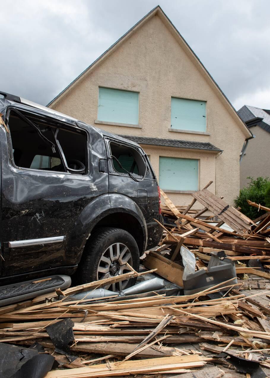 Tornade au Luxembourg : après le choc, l'heure est aux réparations
