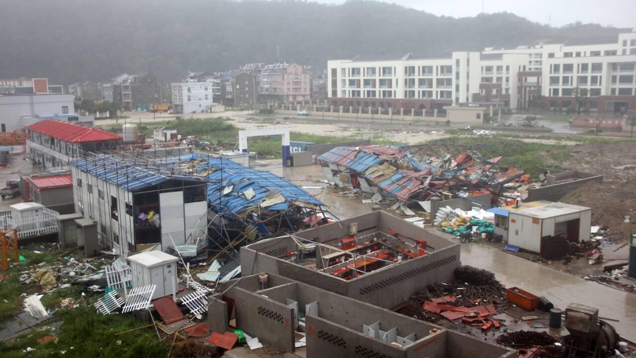 Le typhon Lekima frappe l'est de la Chine: 18 morts et 14 disparus