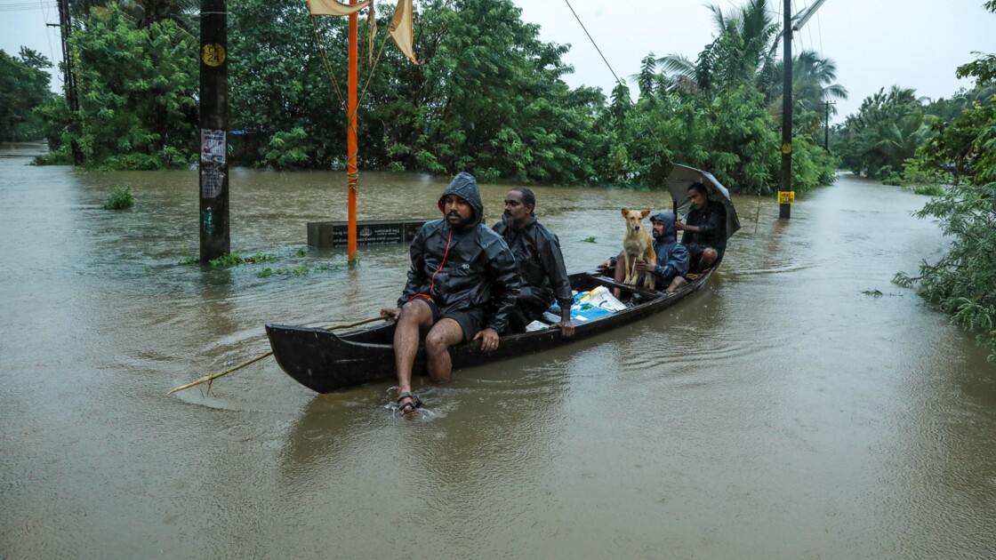 Mousson en Inde: des inondations font au moins 100 morts