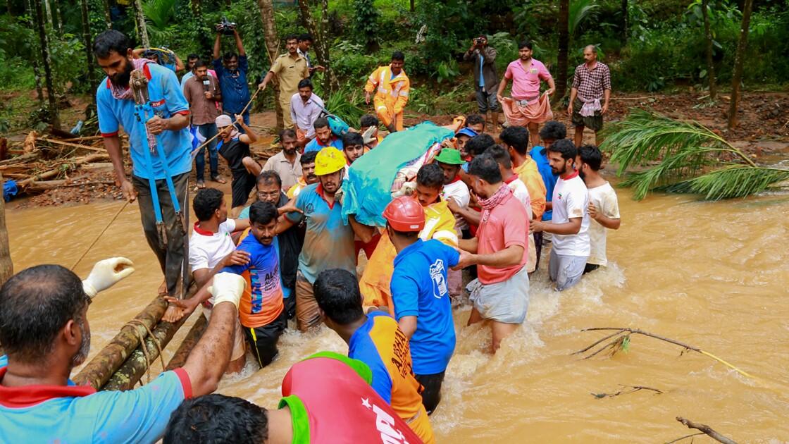 Mousson en Inde: au moins 144 morts, des centaines de milliers d'évacuations