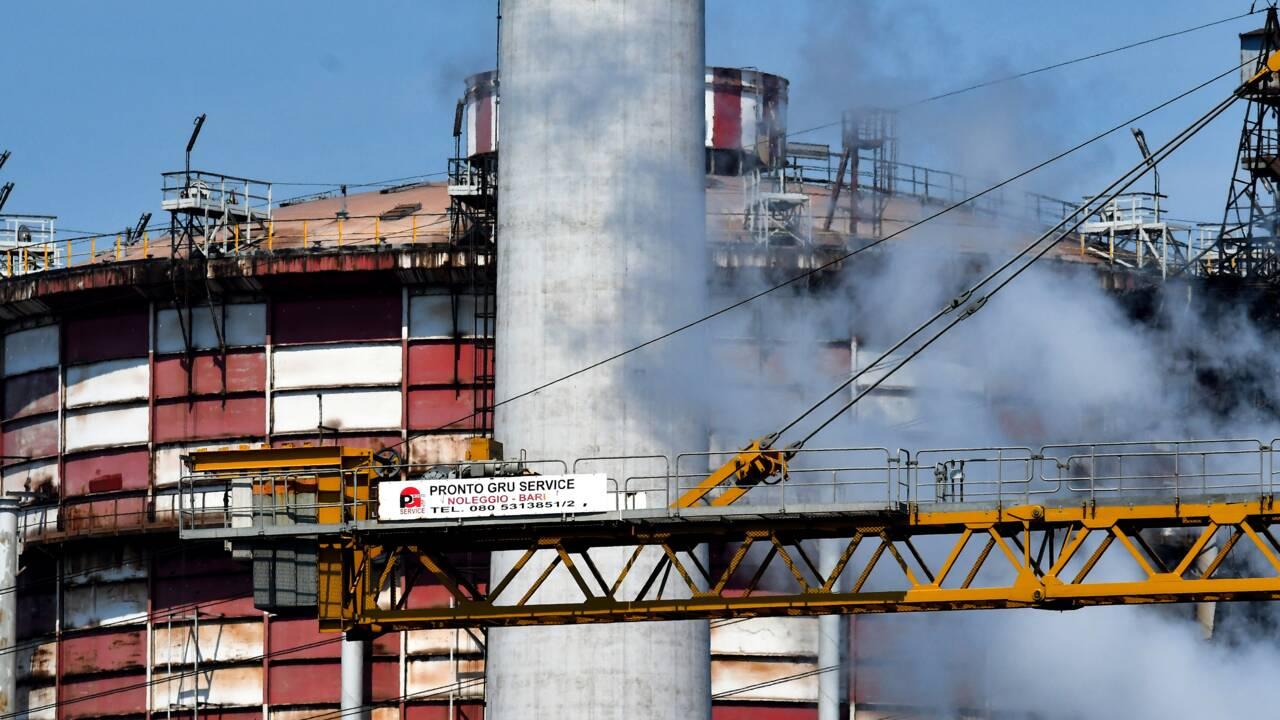 Italie: dépolluer l'aciérie ex-Ilva de Tarente, un chantier titanesque
