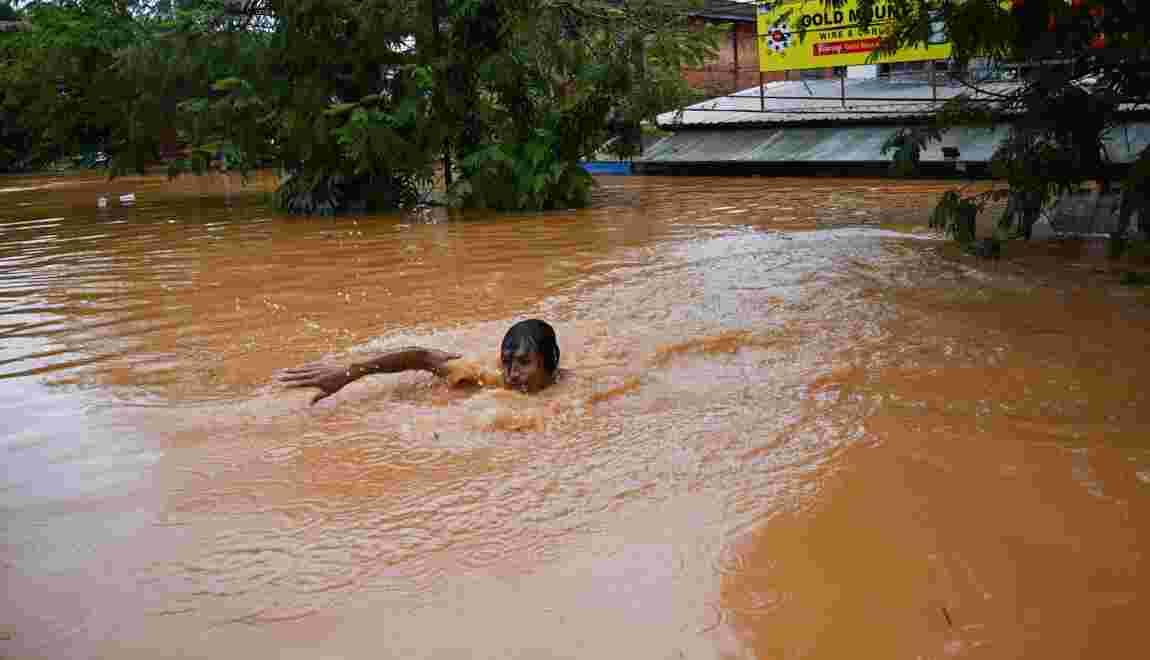 Glissement de terrain en Birmanie: au moins 51 morts