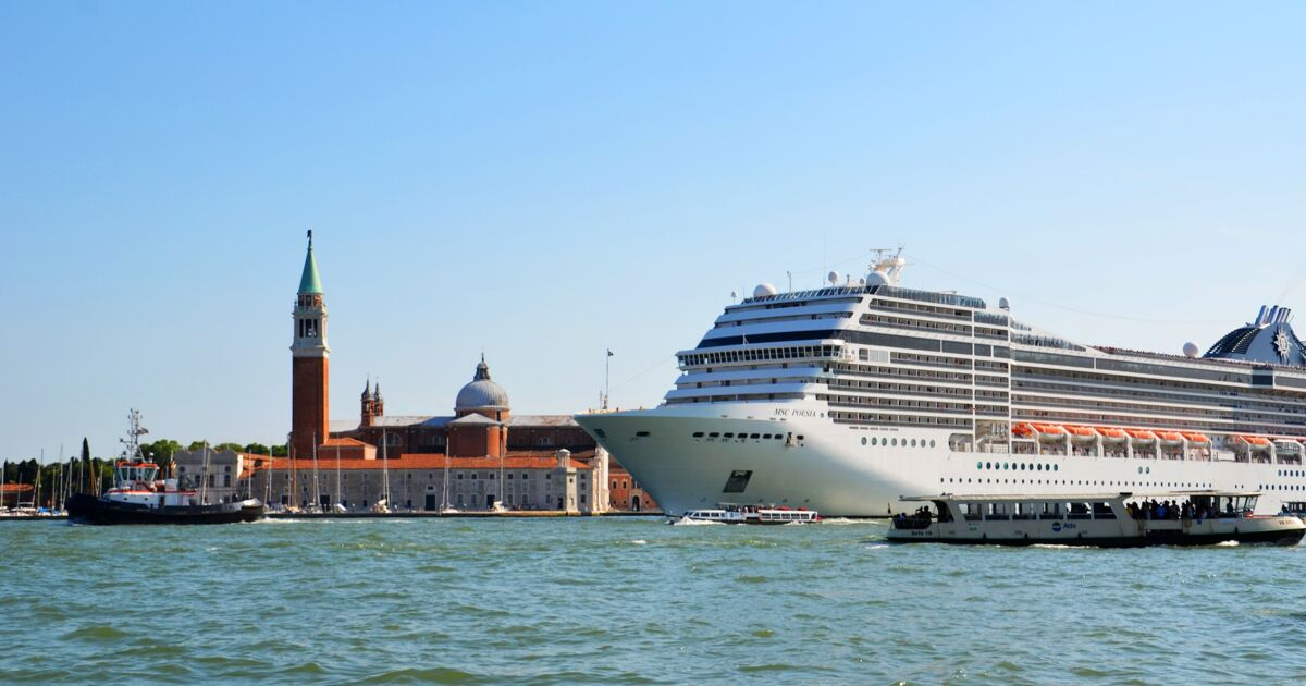 Les bateaux de croisière bientôt chassés de Venise