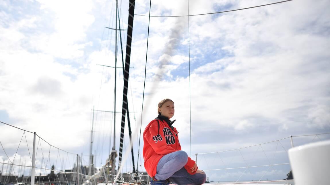 Basique et à l'étroit: la traversée de Greta Thunberg vers New York