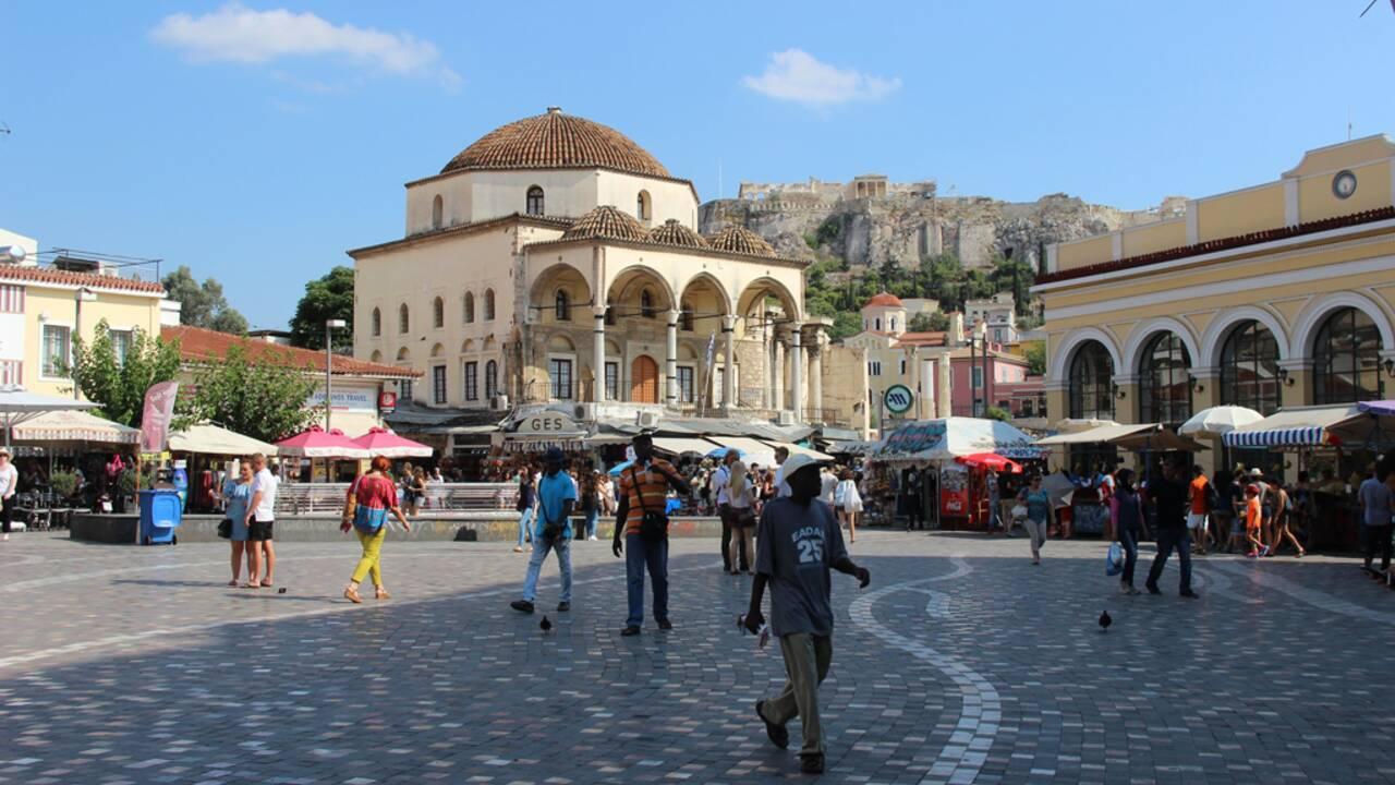En Grèce, Athènes retrouve le sourire