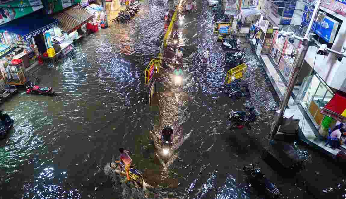 Mousson en Inde: nouvelle alerte aux inondations, déjà 209 morts
