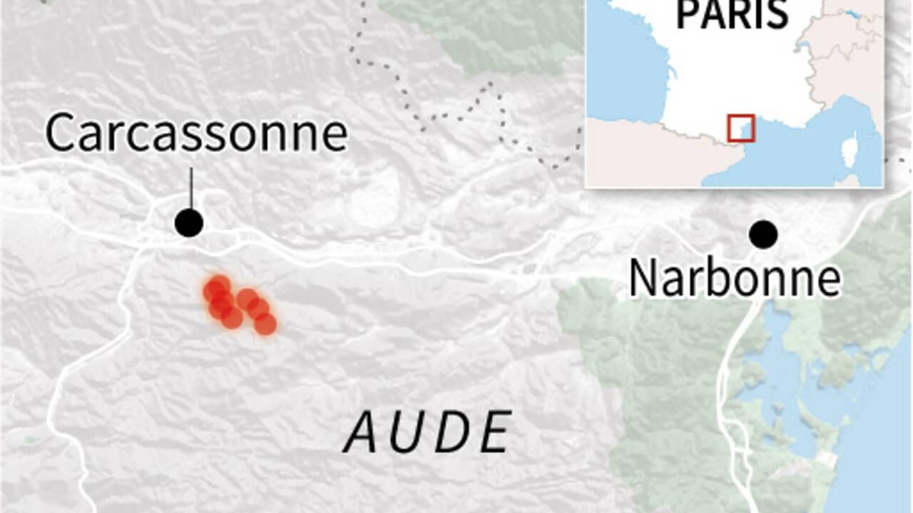 """L'incendie de l'Aude a été """"fixé"""" après avoir parcouru 900 hectares"""