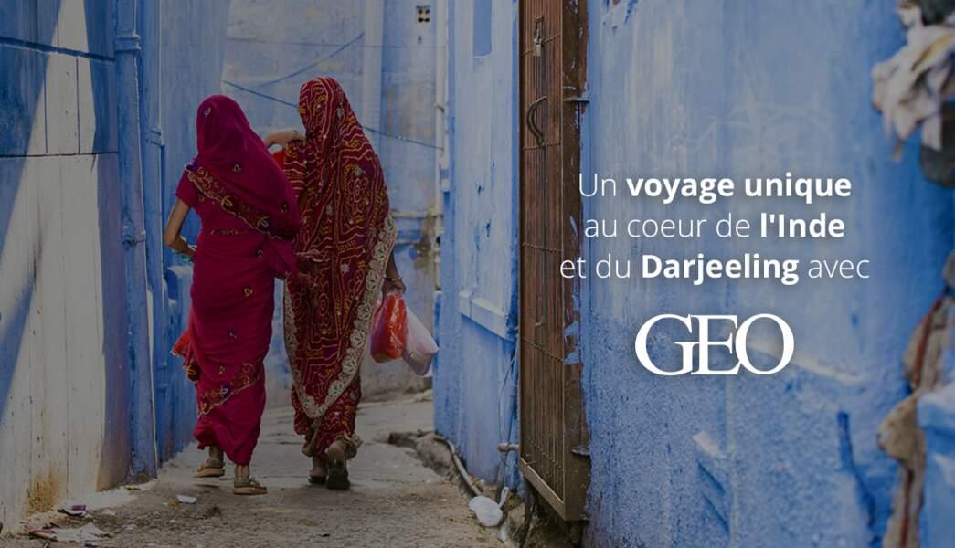 Partez en Inde avec GEO et Planet Ride