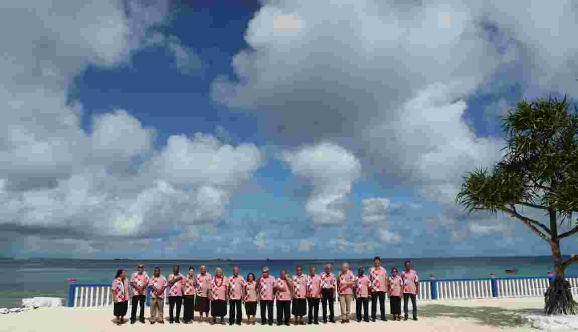 Climat: l'Australie édulcore l'appel des îles du Pacifique