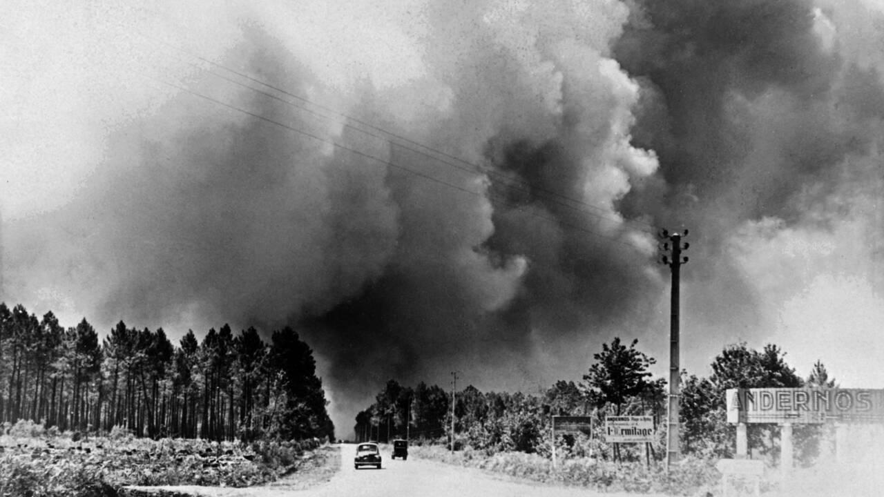 """Gironde: il y a 70 ans, """"l'incendie du siècle"""" aux 82 morts"""