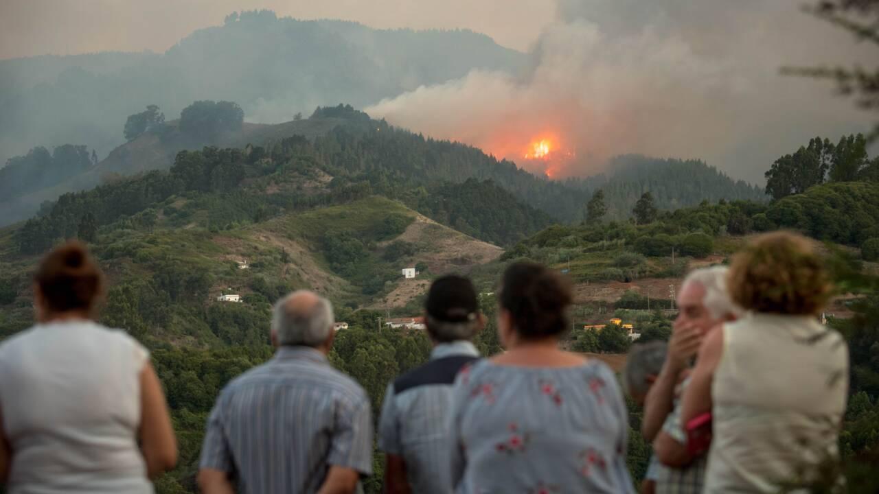 L'incendie qui ravage Grande Canarie hors de contrôle, nouvelles évacuations