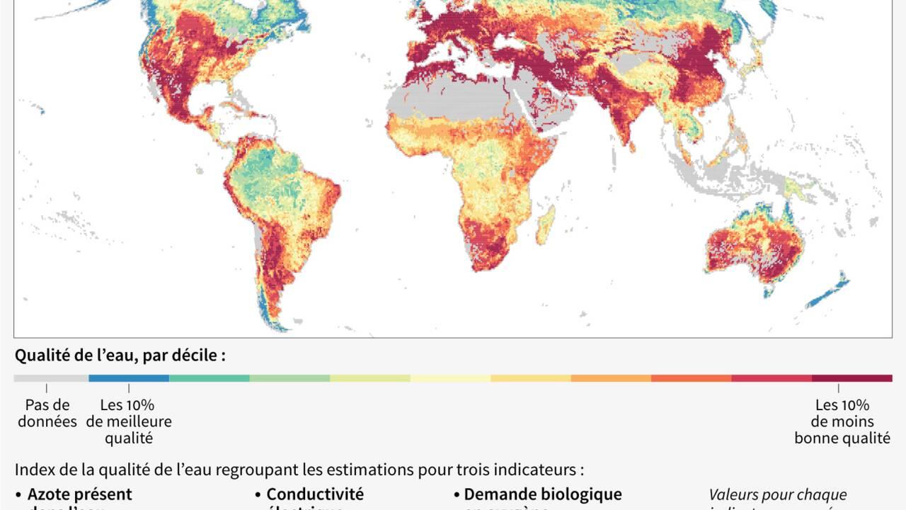"""La Banque mondiale tire la sonnette d'alarme sur la pollution de l'eau, """"une crise invisible"""""""