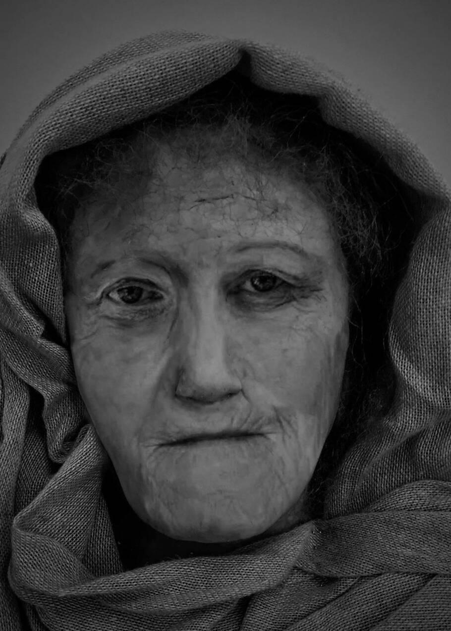 Le visage de Hilda, une femme druide de l'âge du fer, reconstitué plus de 1600 ans après sa mort