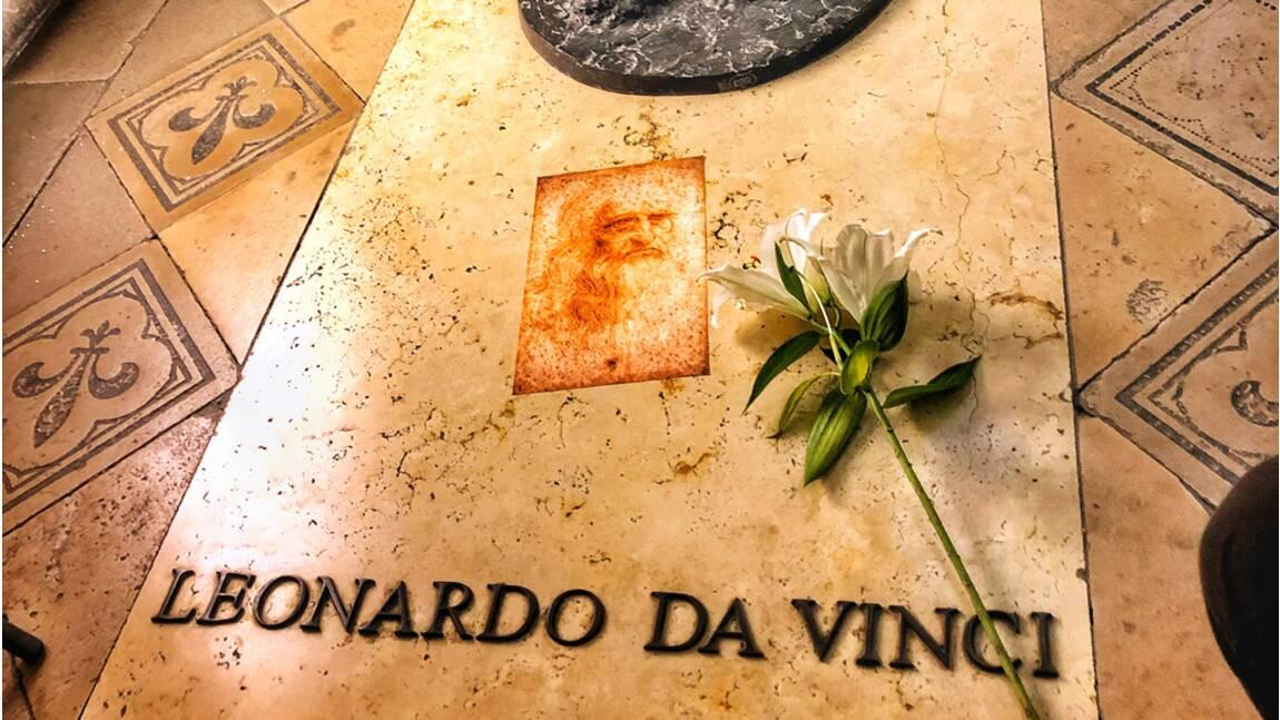 Léonard de Vinci : qui se trouve dans sa tombe à Amboise ?