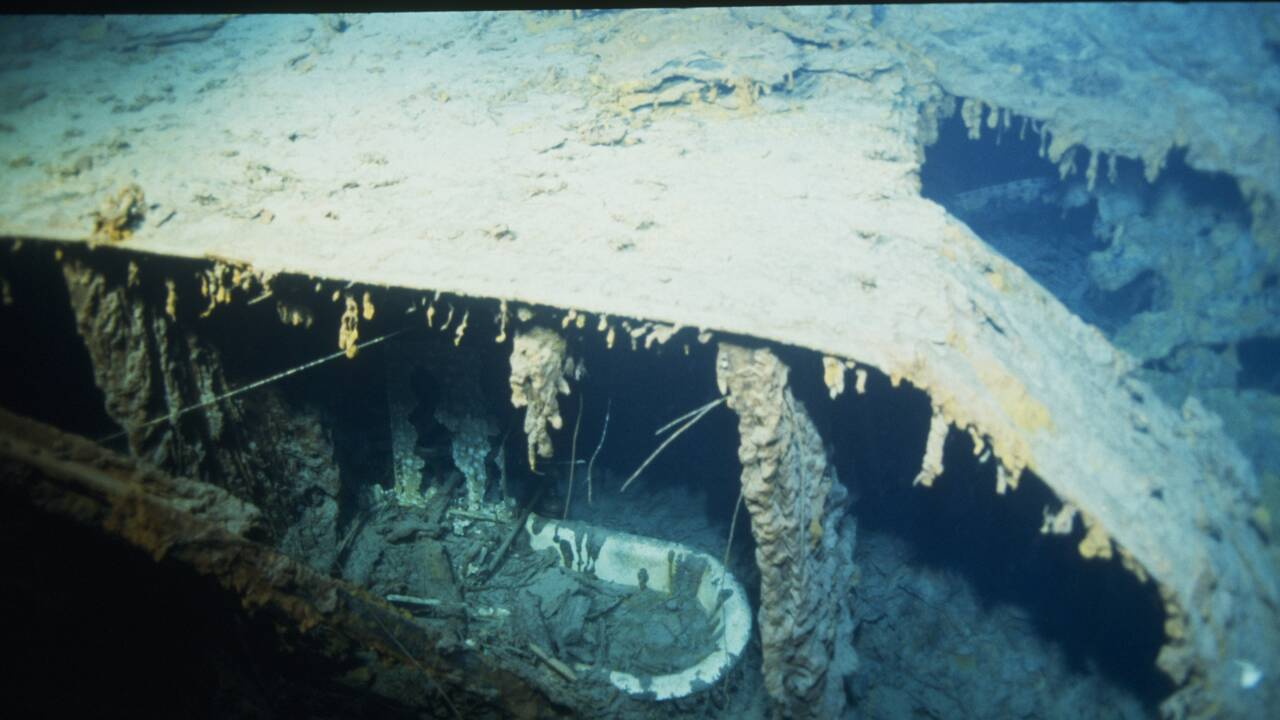 De nouvelles images du Titanic révèlent la détérioration avancée de l'épave