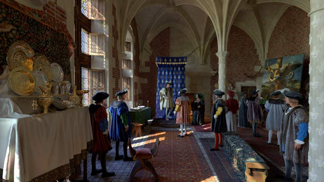 Amboise : la grande salle du conseil