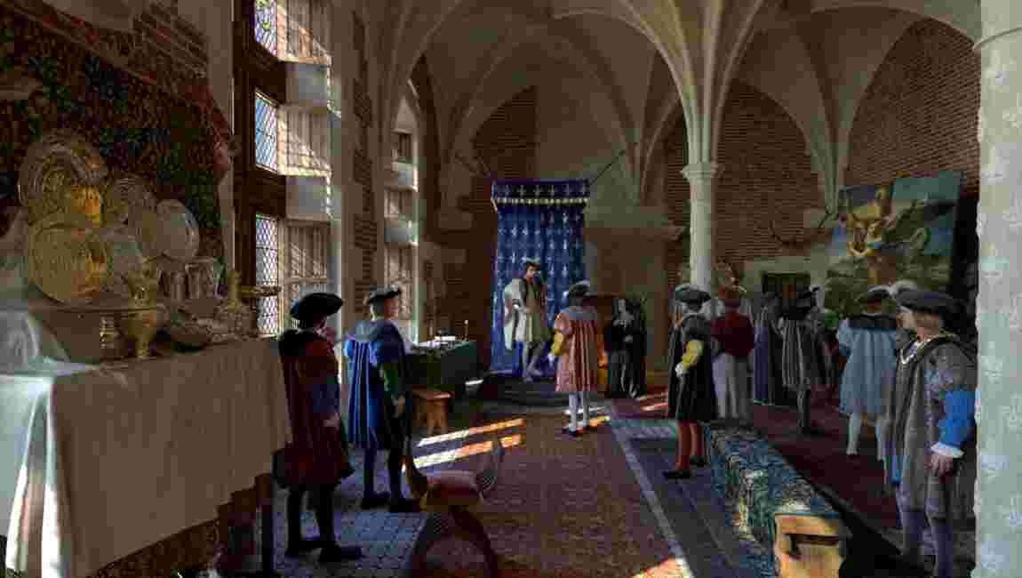 Amboise, Blois, Chambord… Quand la 3D redonne vie aux châteaux de la Loire