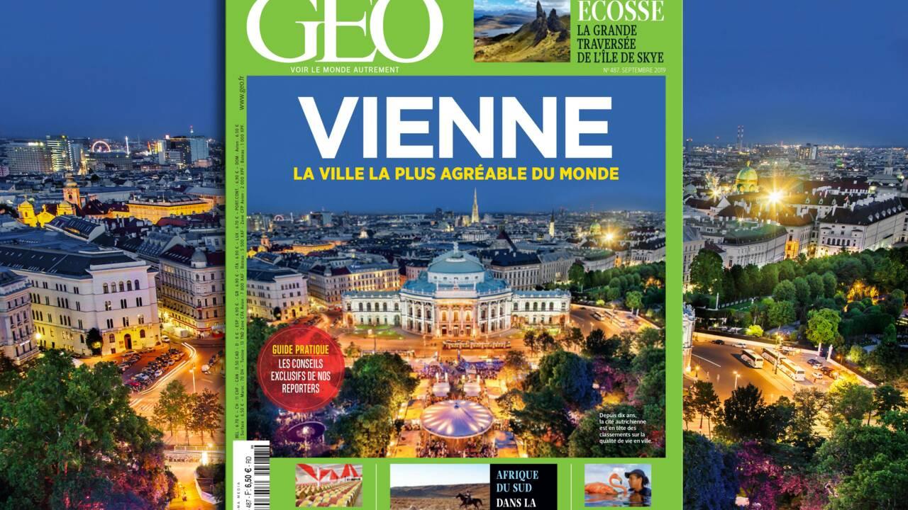 Vienne dans le nouveau magazine GEO