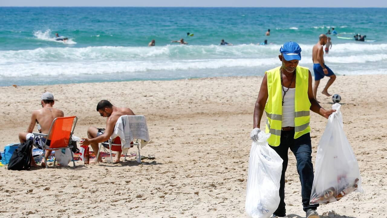 Tel-Aviv et sa côte, victimes de l'addiction d'Israël au plastique