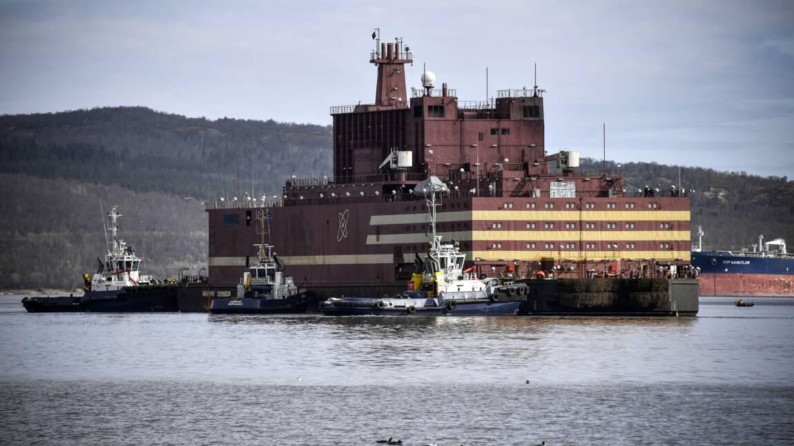 Russie: la première centrale nucléaire flottante arrive à son port permanent