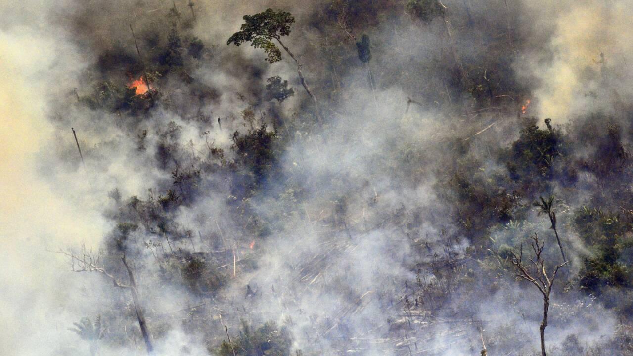 """En Amazonie, les habitants de Porto Velho sont devenus des """"fumeurs passifs"""""""