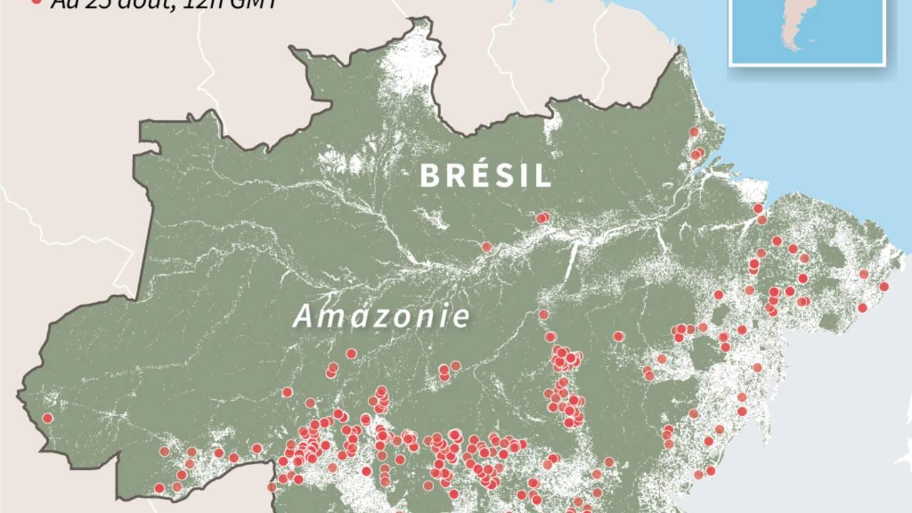 En Bolivie, les incendies ont ravagé près d'un million d'hectares