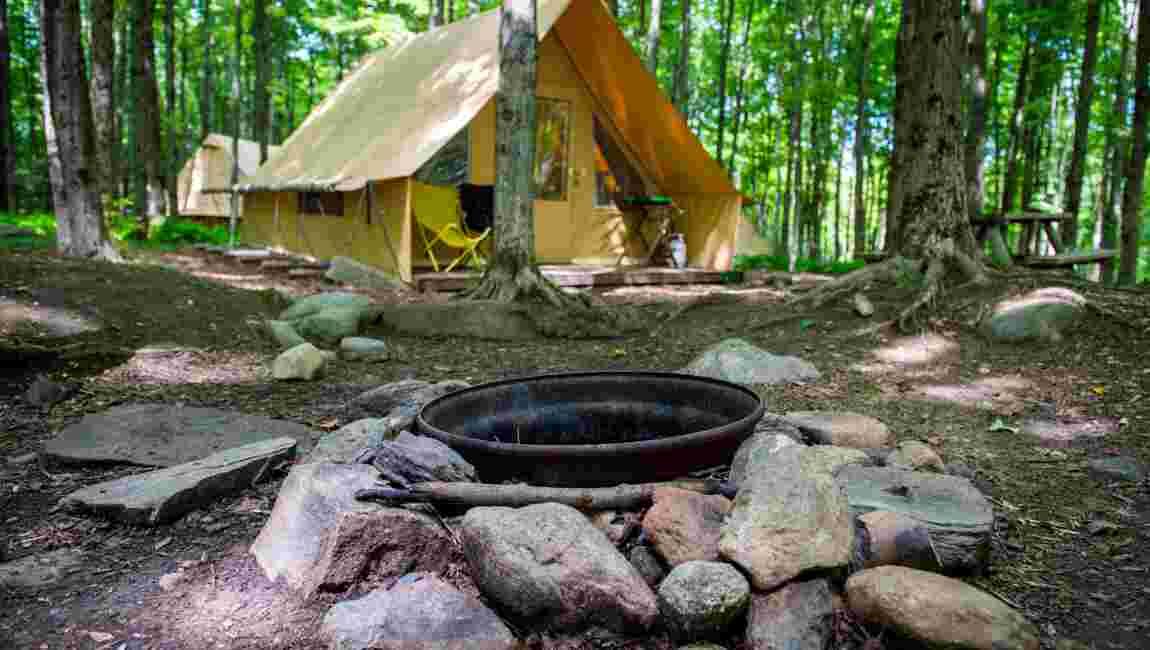 Le glamping à la française gagne les forêts d'Amérique du Nord