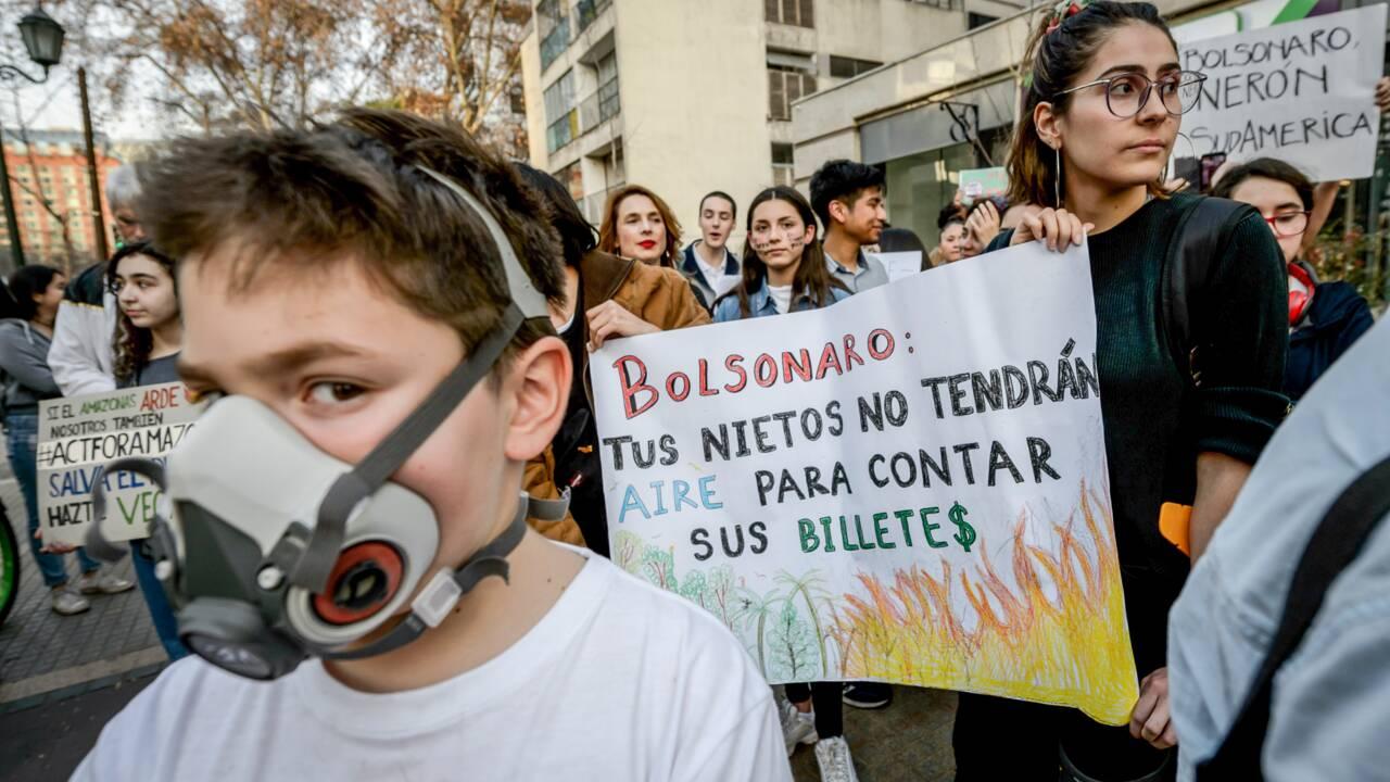 L'Amazonie en feu, un désastre aussi pour l'image du Brésil