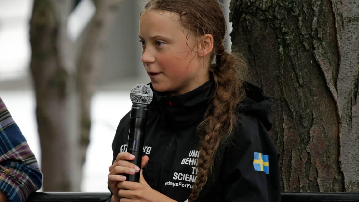 """Greta Thunberg déplore que Donald Trump refuse d'""""écouter la science"""""""