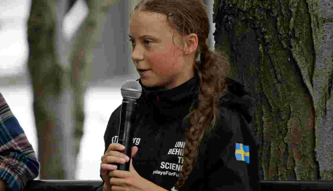 "Greta Thunberg déplore que Donald Trump refuse d'""écouter la science"""