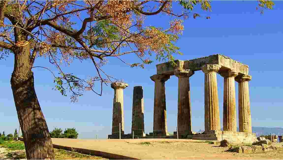 150 ans avant l'invention de la grue, les Grecs utilisaient un ingénieux système pour construire leurs temples
