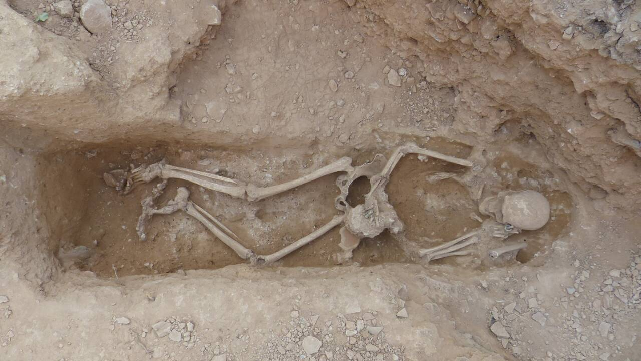 A Nîmes, des archéologues ont découvert des dizaines de tombes romaines de bébés