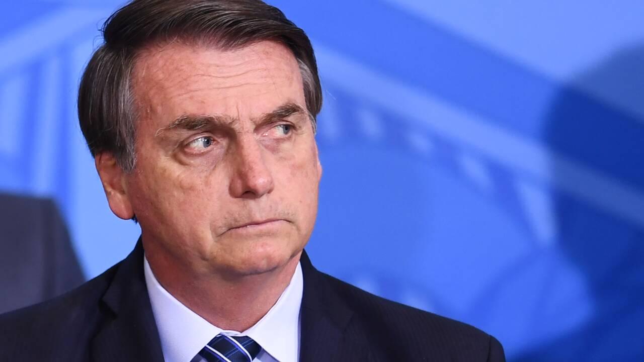 Amazonie: Bolsonaro s'en prend à l'Europe et se rapproche des Etats-Unis