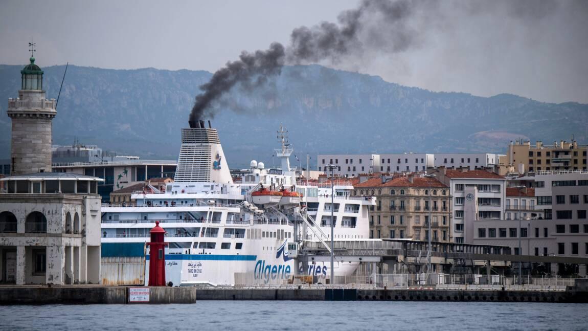 Pollution: 30 M d'euros pour électrifier les bateaux à quai à Marseille, Nice et Toulon