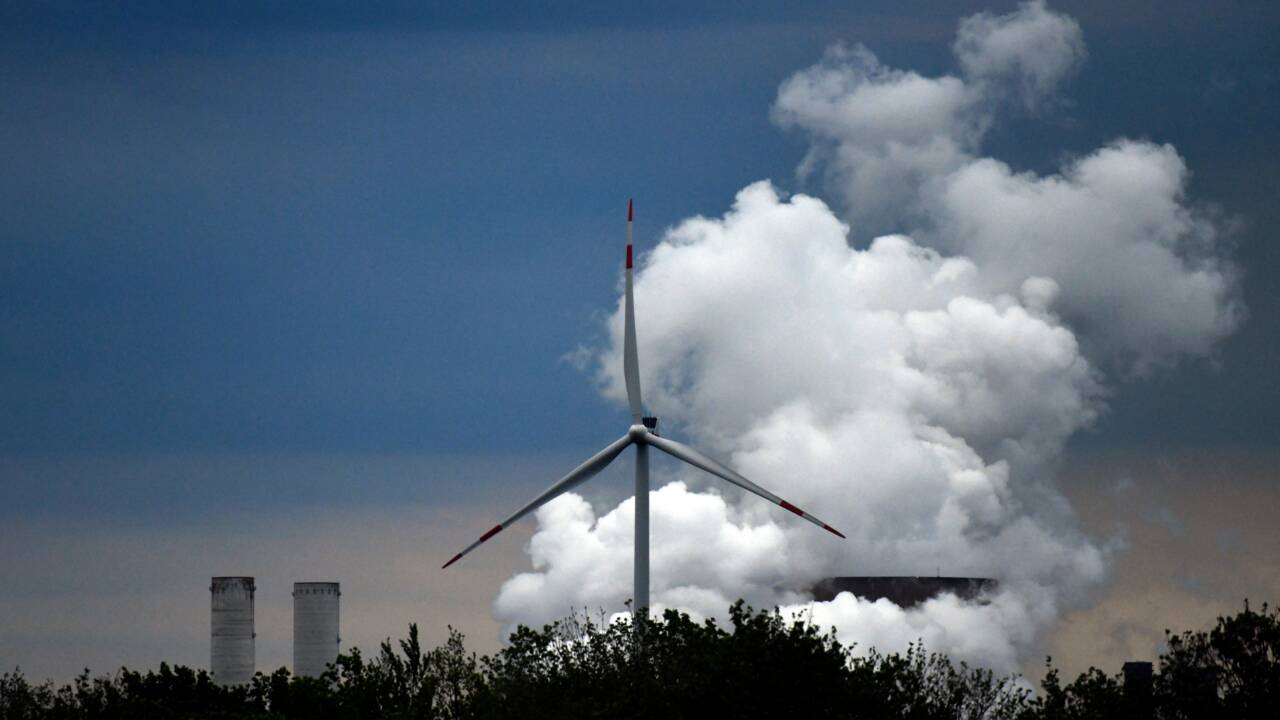 Allemagne: l'éolien, pilier de la transition énergétique, vacille