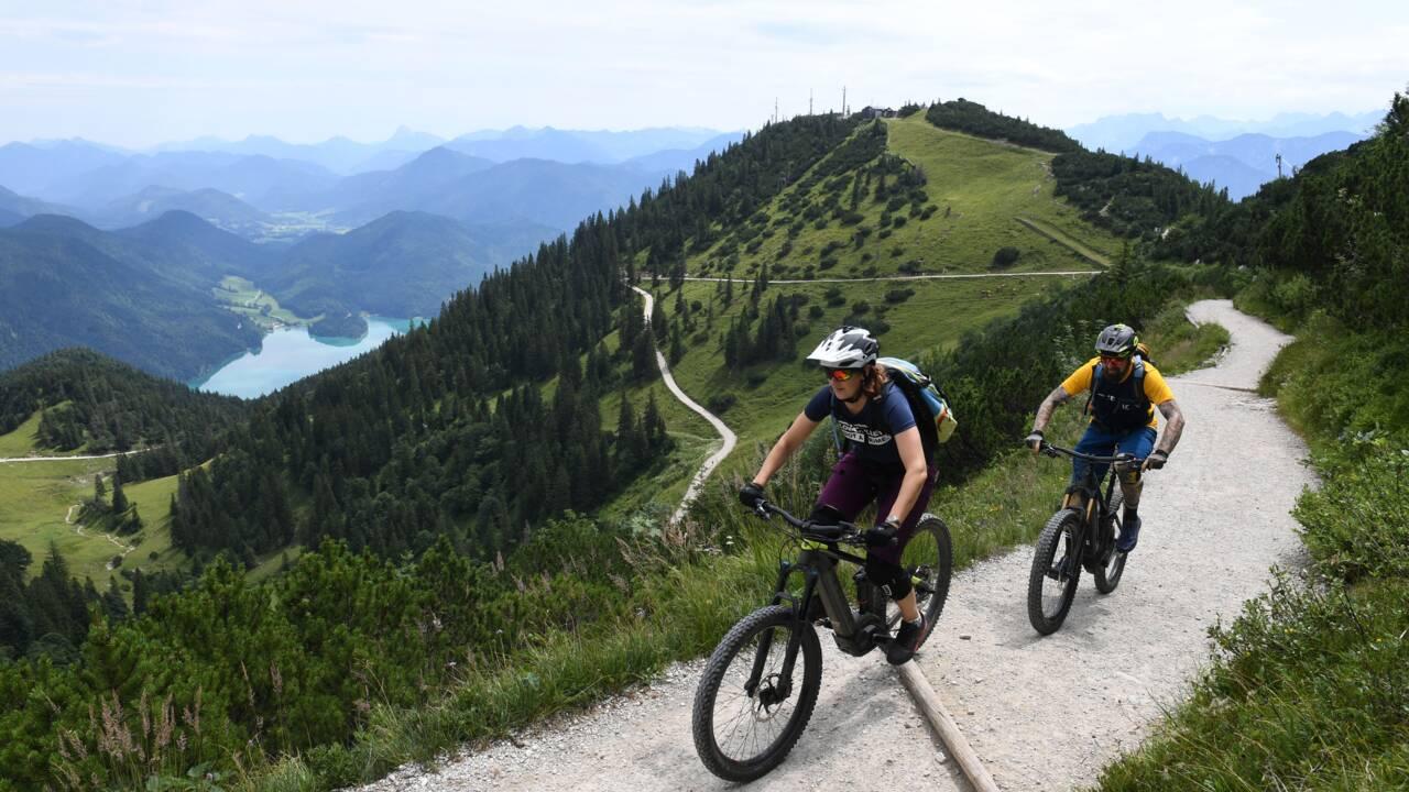 Dans les Alpes bavaroises, les VTT électriques irritent