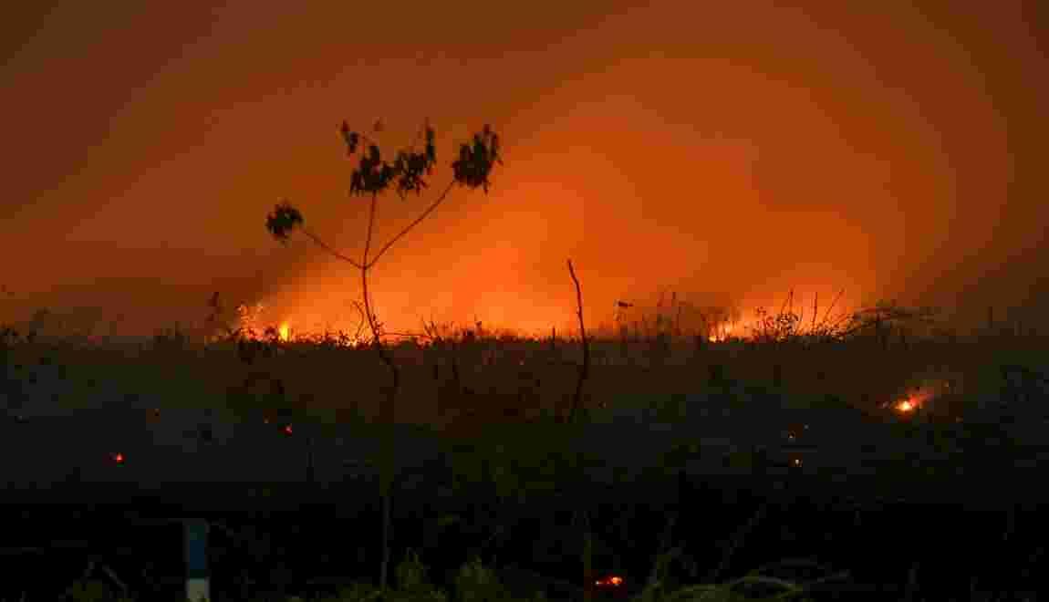 Feux de forêts en Indonésie: des centaines d'écoles fermées en Asie du Sud-Est