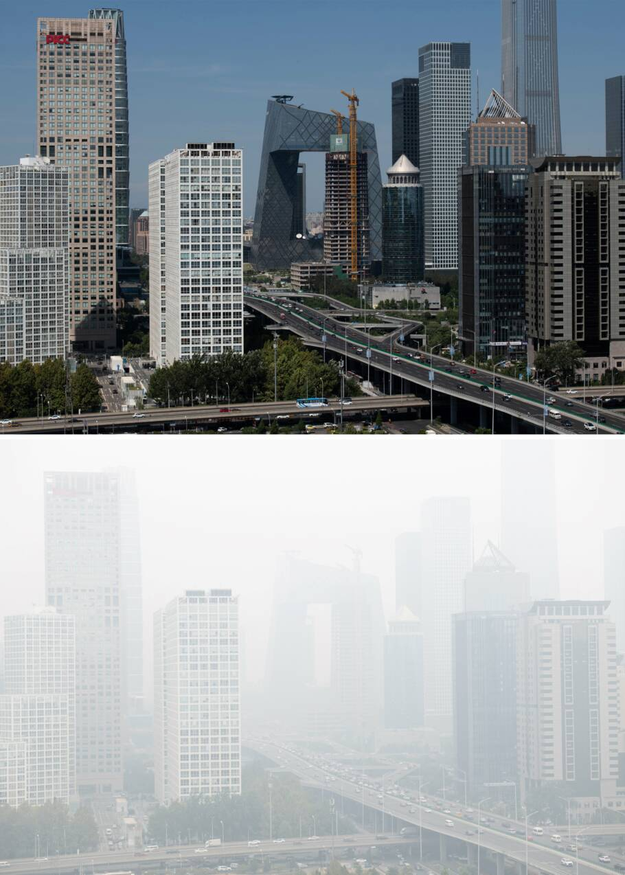 Pékin pourrait quitter la liste des 200 villes les plus polluées du monde