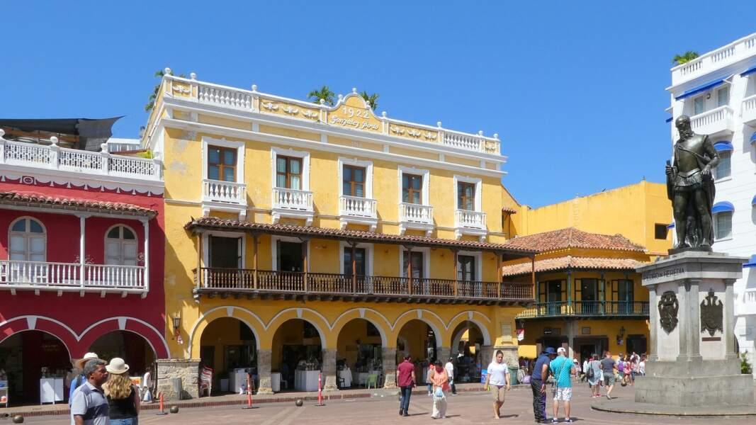 Ville coloniale de Carthagène