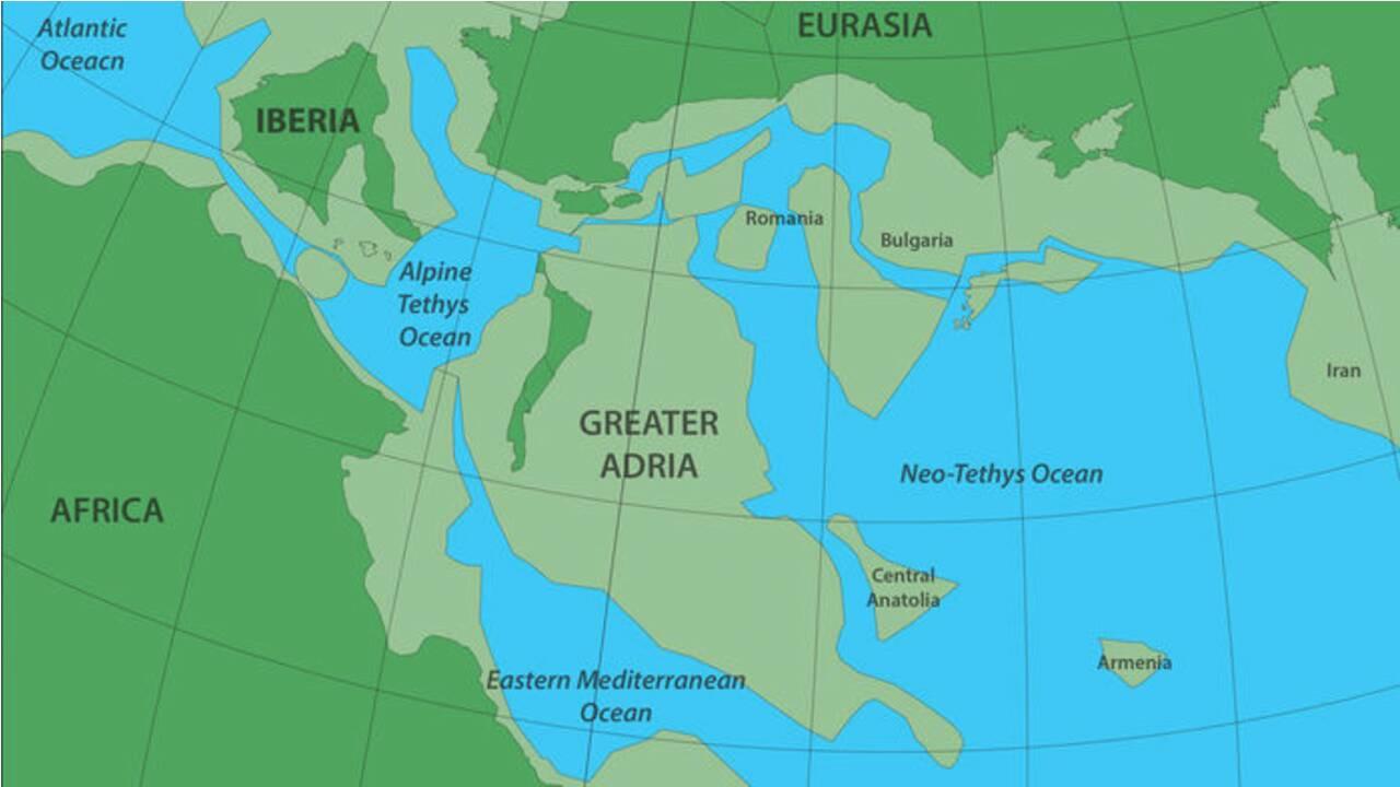 Des géologues révèlent l'histoire d'un continent oublié enfoui sous l'Europe depuis des millions d'années