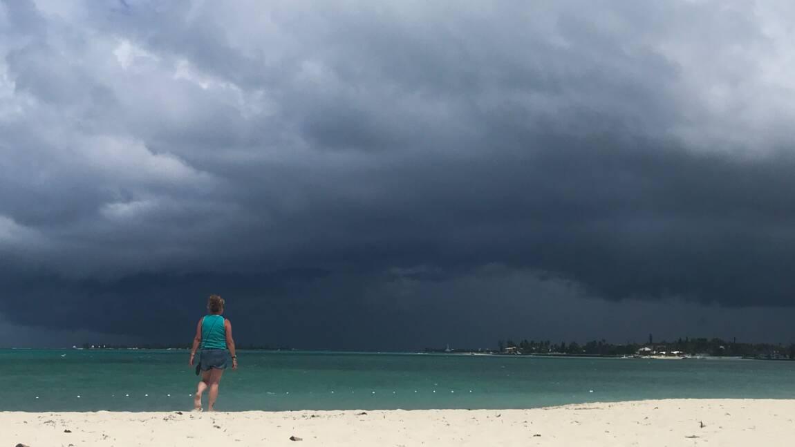 La tempête Humberto arrive aux Bahamas, déjà dévastées par Dorian