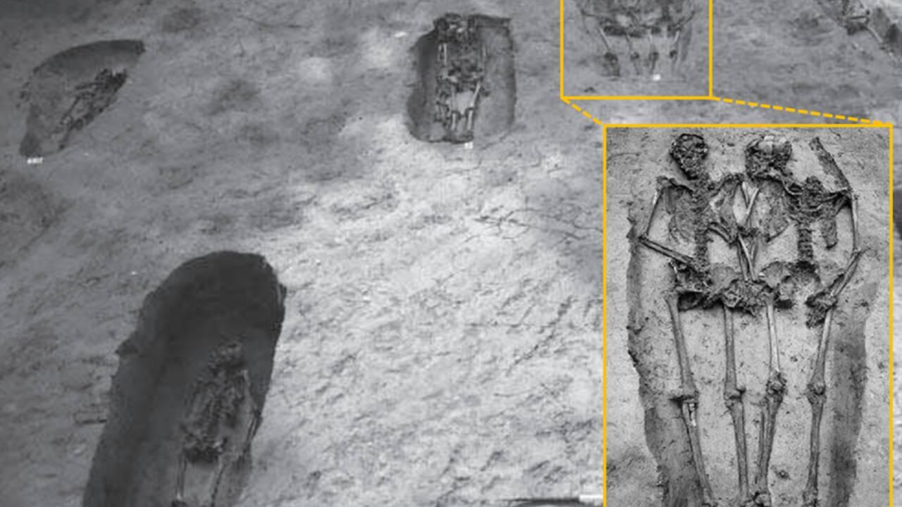 Deux squelettes découverts main dans la main à Modène révèlent un secret inattendu
