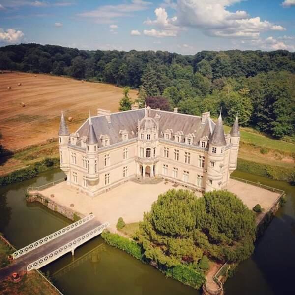 Château de Bourneau, à Bourneau