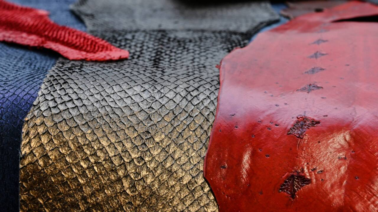 Mode: peau de saumon et feuilles d'ananas pour des matériaux de luxe responsables