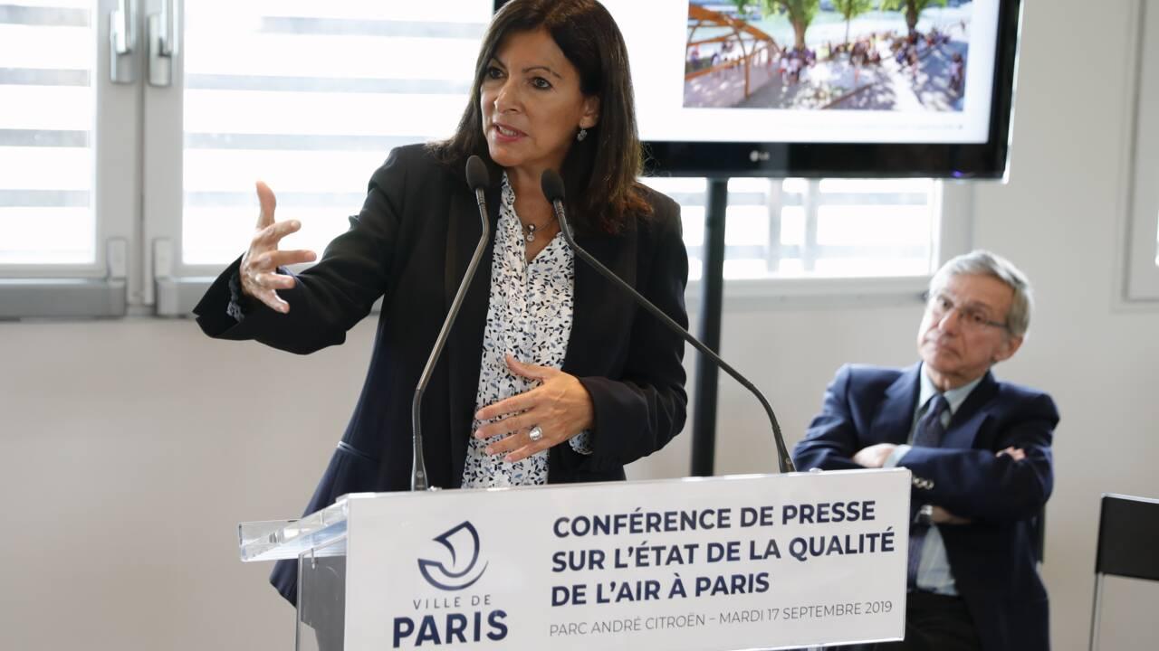 Pollution de l'air à Paris: Hidalgo veut agir contre l'automobile, les particules ultrafines sous surveillance