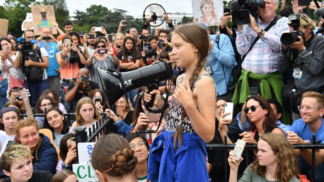 Canada: Trudeau à la marche sur le climat à Montréal avec Greta Thunberg